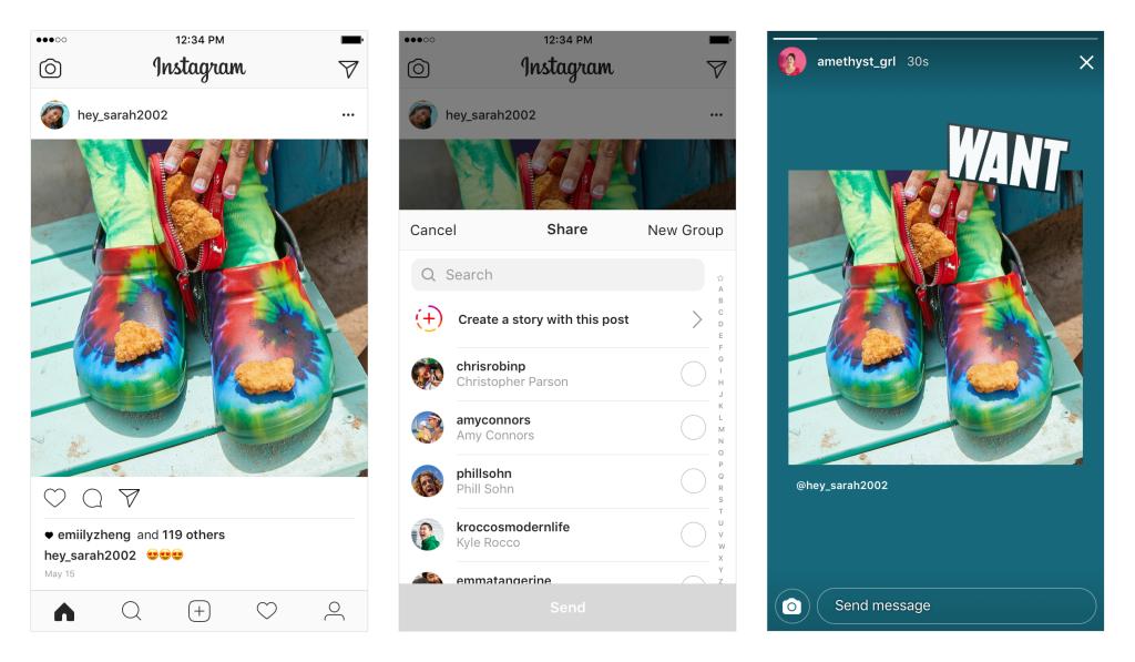 5 spunti creativi per condividere i contenuti presenti nel feed nelle Instagram Stories