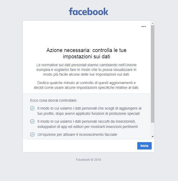 Cosa sapere per continuare a usare Facebook con le nuove regole del GDPR