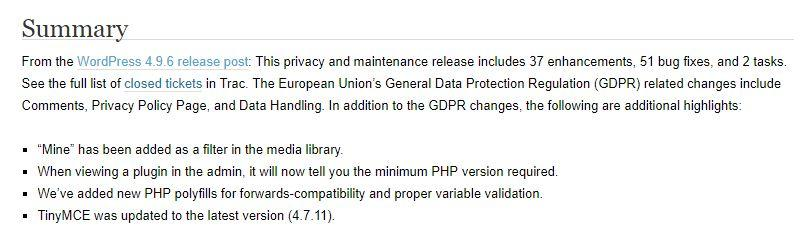 gdpr wordpress