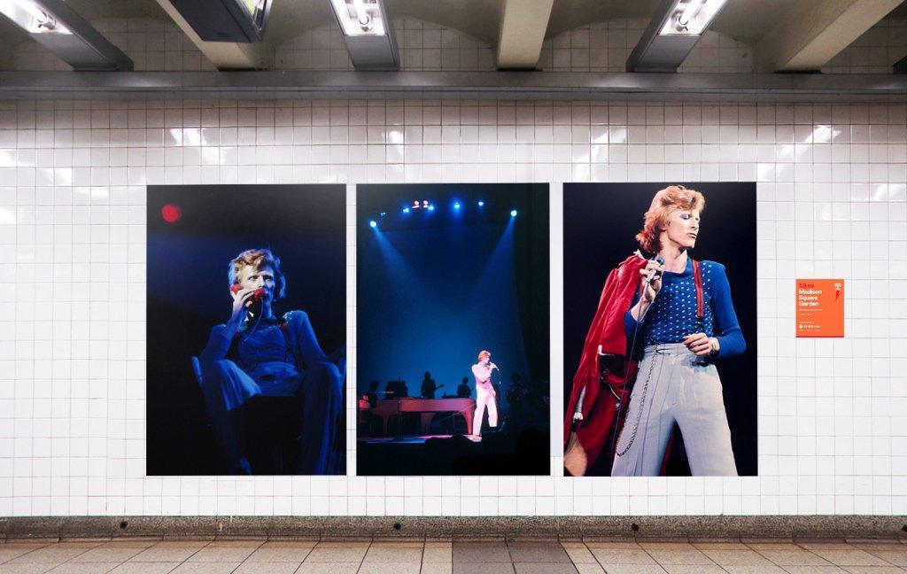 La metro di New York celebra David Bowie grazie a Spotify