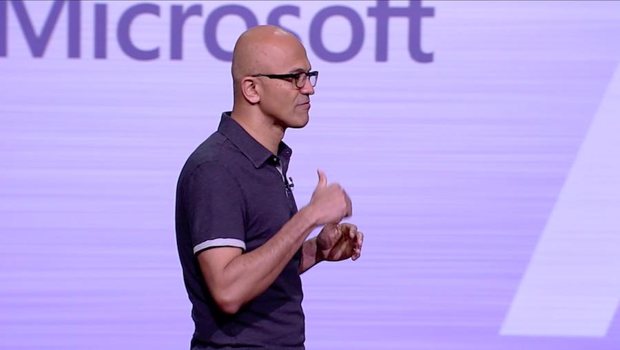 Microsoft, che cosa ha detto Satya Nadella al Build 2018