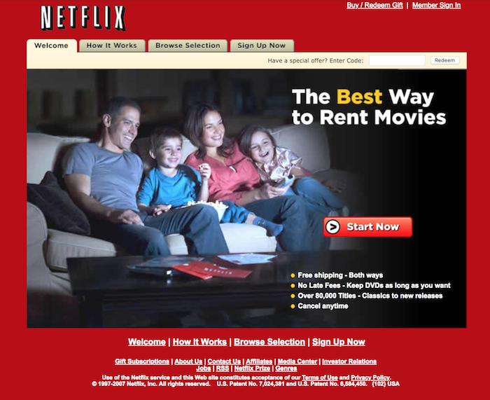 Netflix, da 40 $ di multa a un capitale societario da 100 miliardi di Dollari: sfide, strategie e tattiche di chi ha reinventato la fruizione video nell'era moderna.