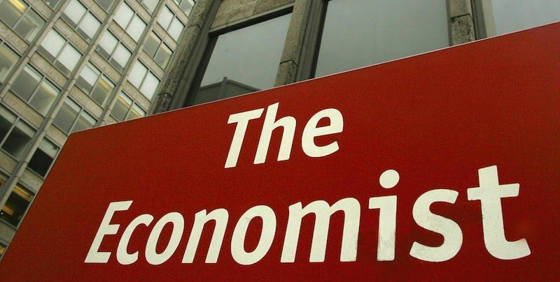 "LONDON, UNITED KINGDOM: This picture shows the London offices of ""The Economist"" 16 February, 2005. Figures due to be released on Thursday, while officially still secret, are widely expected to show that the London-based news magazine has exceeded the one million mark for weekly sales worldwide for the very first time. AFP PHOTO/ALESSANDRO ABBONIZIO (Photo credit should read ALESSANDRO ABBONIZIO/AFP/Getty Images)"