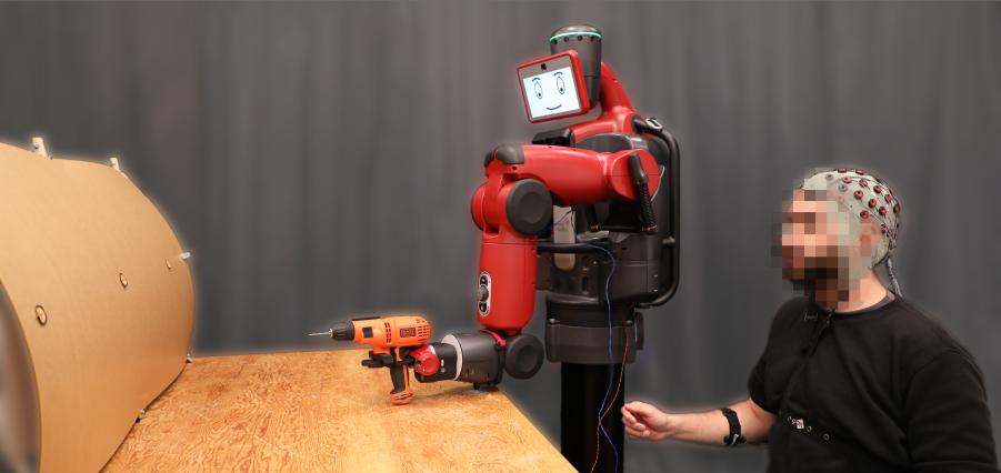 Al MIT testano una nuova tecnica per controllare i robot col pensiero