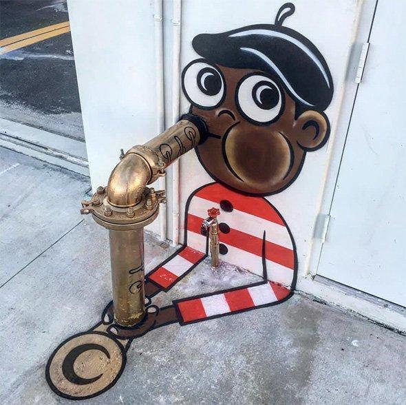 Simpson, Beatles e Super Mario, così la street art colora le nostre città