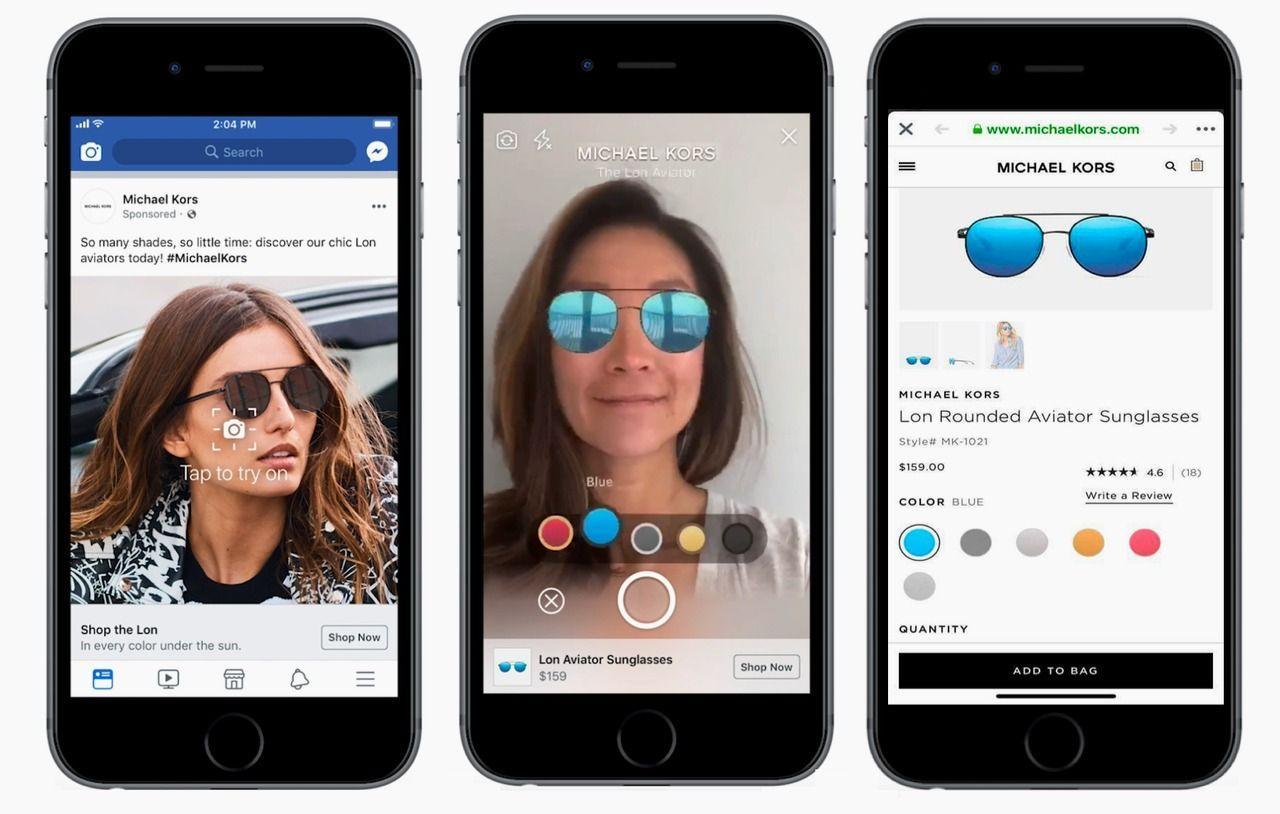 Come funziona il nuovo formato di Facebook Ads per provare i prodotti prima di acquistarli