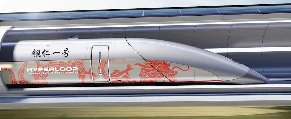 HyperloopTT vuole costruire il primo treno Hyperloop in Cina