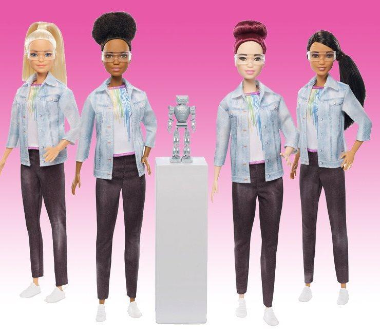 Addio alla fidanzatina di Ken, ora Barbie insegna (anche) il coding