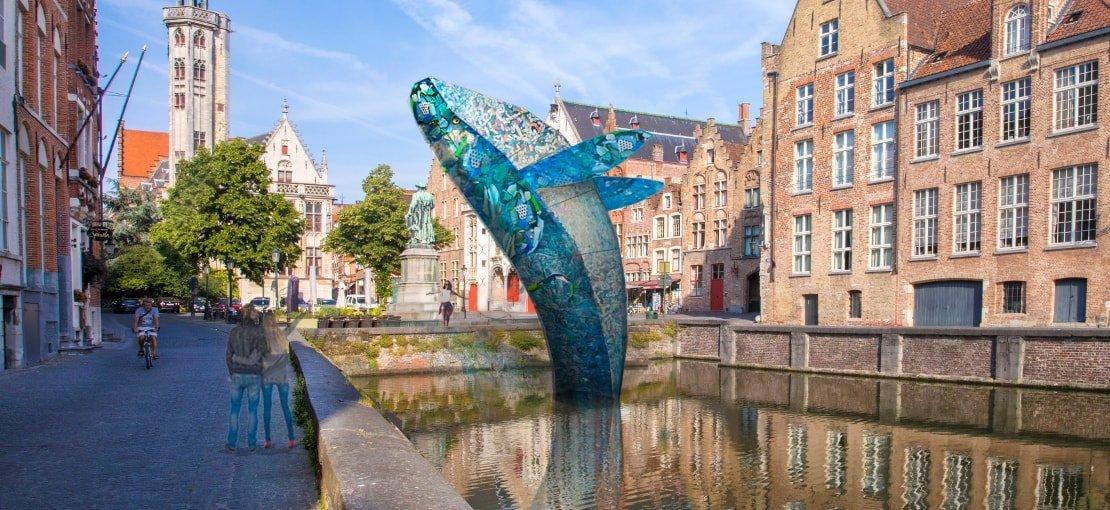 I rifiuti dagli oceani diventano arte in questi 7 grandiosi esempi di riuso creativo