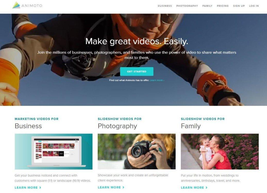animoto startup mosaicoon video