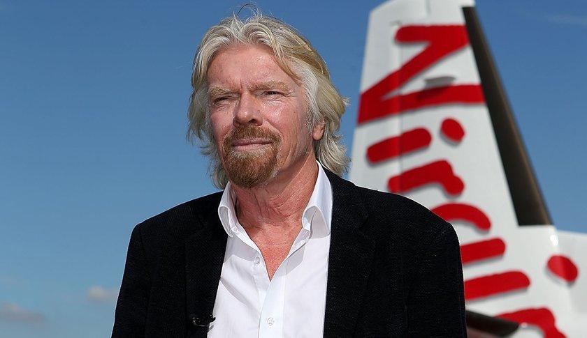 10 frasi del papà di Virgin su business, successo e felicità