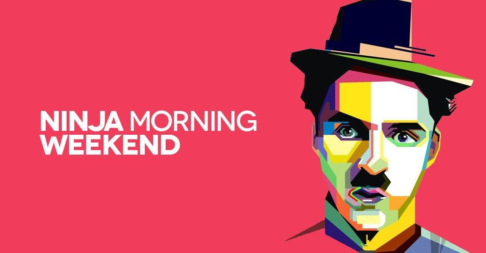 Ninja Morning (Weekend), il buongiorno di sabato 14 luglio