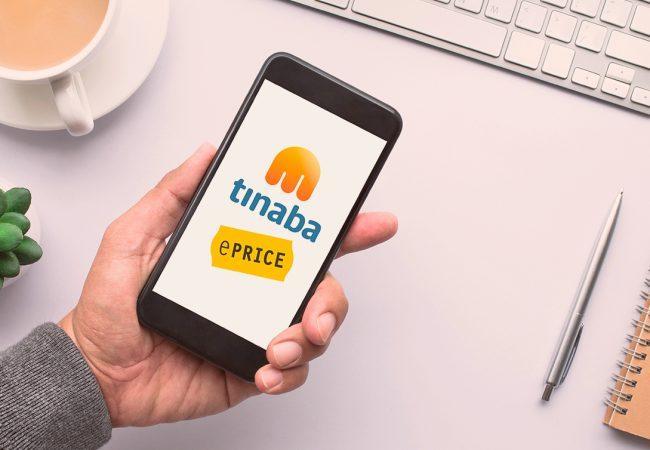 Tinaba si allea con ePRICE: lo shopping si paga con lo smartphone