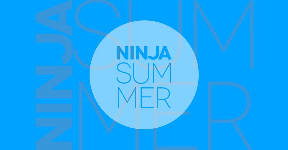 Ninja Summer, giovedì 9 agosto 2018