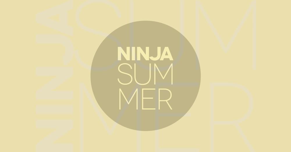Ninja Summer, giovedì 16 agosto 2018