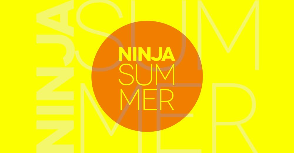 Ninja Summer, sabato 1 settembre 2018