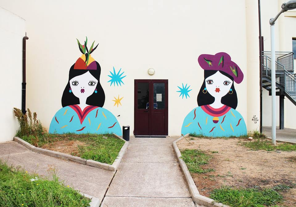 L'artista sarda La Fille Bertha firma una collezione in edizione limitata per iBlues