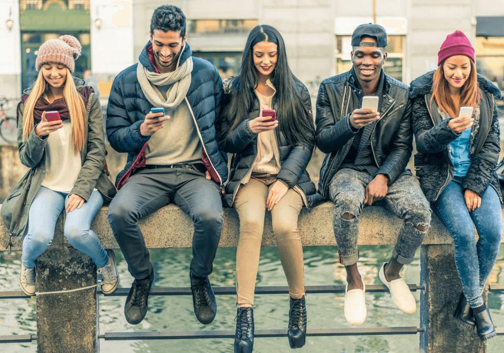Generazione Z e i social