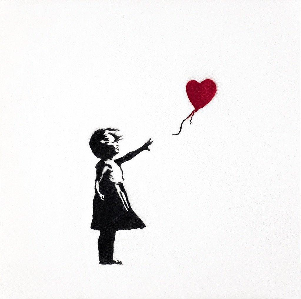 Girl with Balloon ©Steve Lazarides