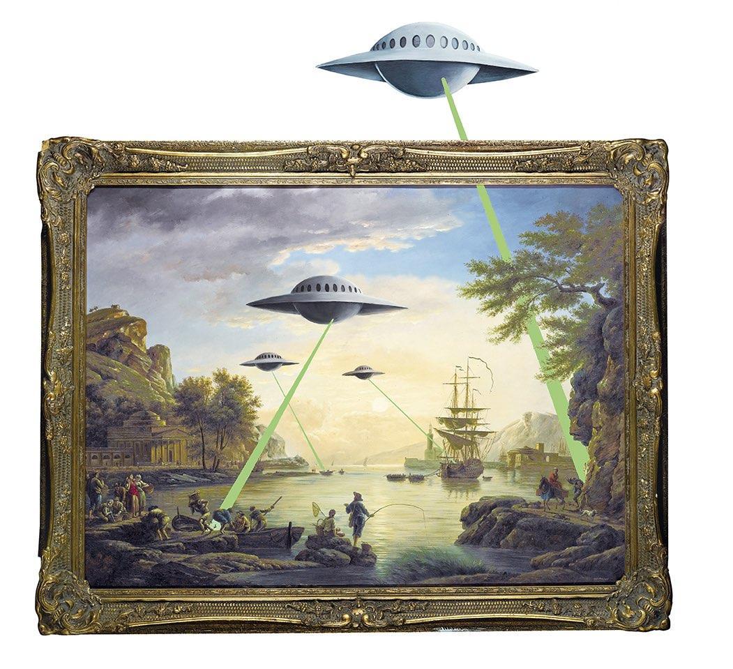 UFO ©Steve Lazarides
