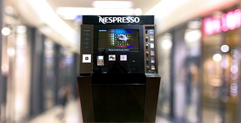 Nespresso lancia gli N-Point, corner automatici per l'acquisto del caffè