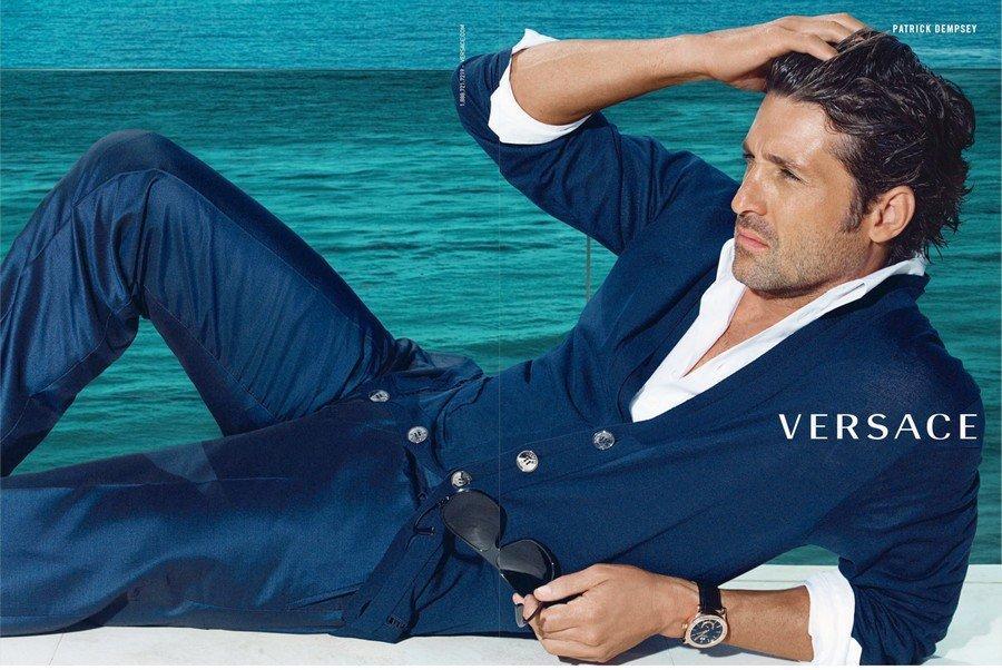Versace SS 09 Patrick Dempsey by Mario Testino 05