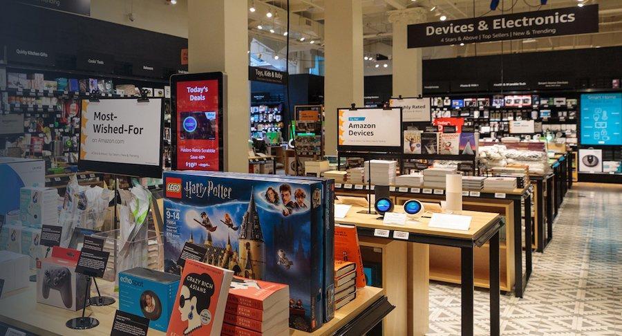 Amazon apre a New York un negozio con i suoi prodotti più venduti