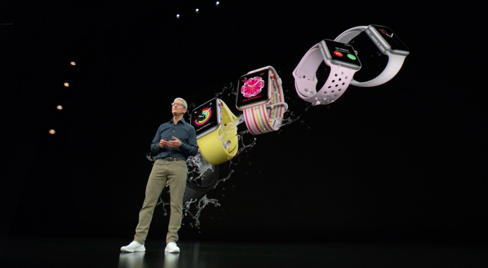L'Apple Watch apre lo show di Cupertino. Poi i nuovi iPhone XS
