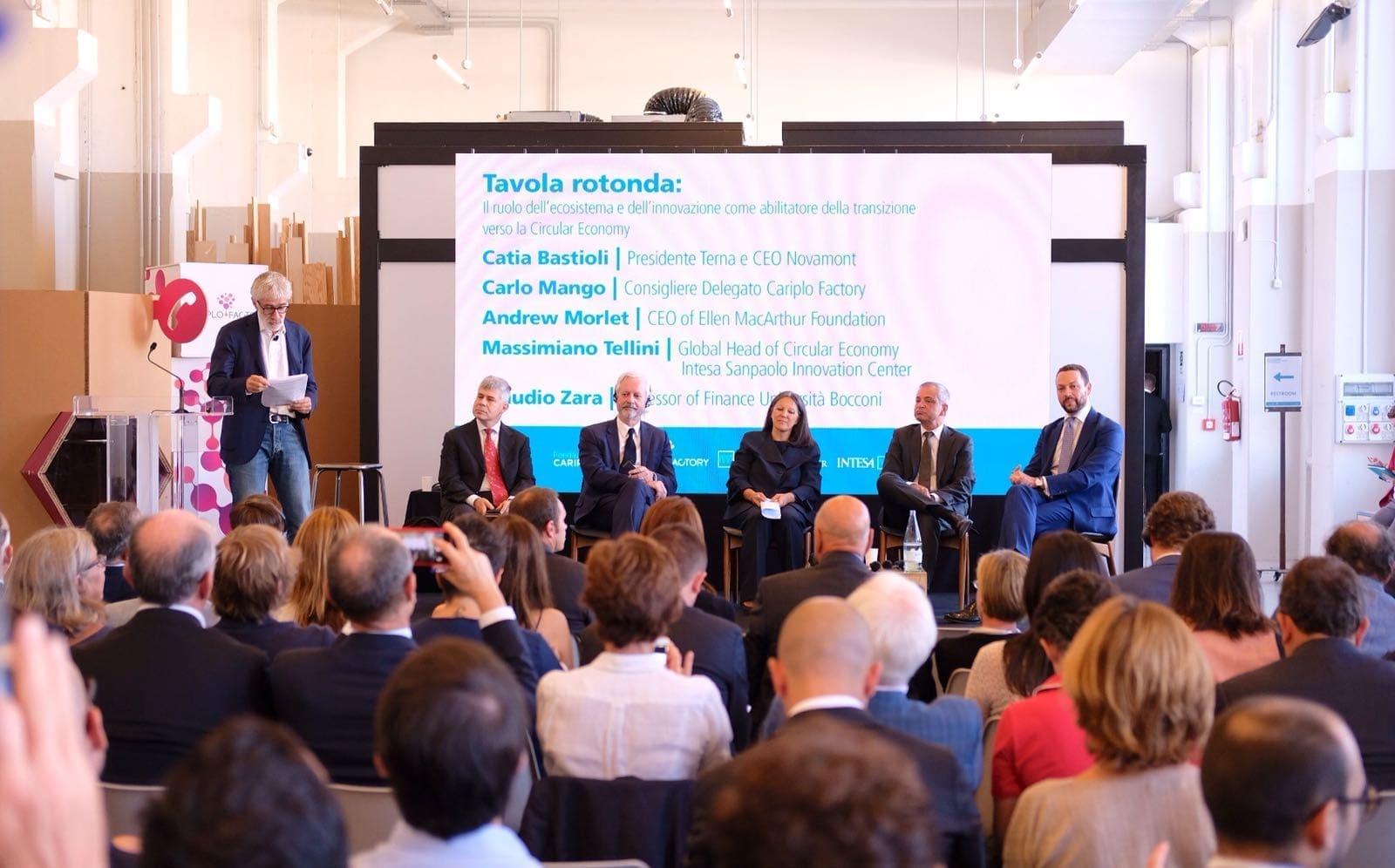 Intesa Sanpaolo e Fondazione Cariplo lanciano il primo laboratorio italiano sulla Circular Economy