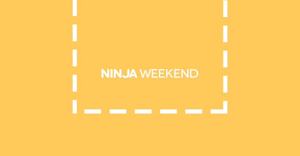 Ninja Weekend, sabato 8 settembre
