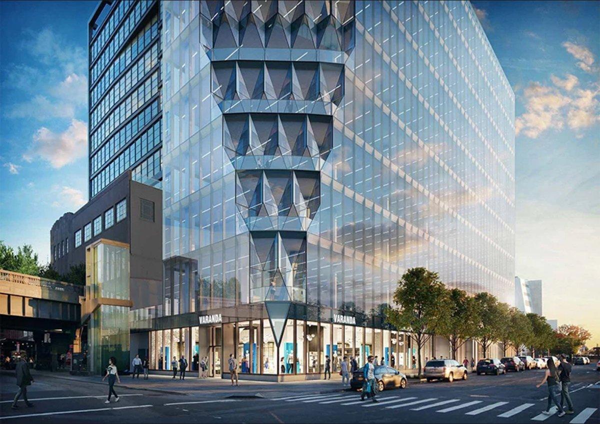 Lavori in corso a New York per il grattacielo che filtra la luce solare