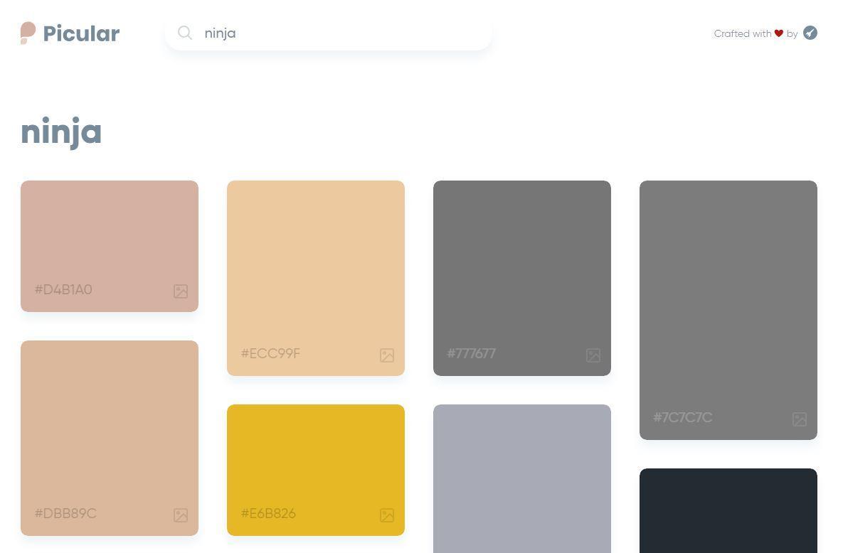C'è il motore di ricerca per chi lavora con i colori (e per chi ama sperimentare)