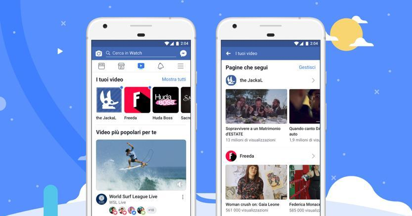 Arriva in Italia Facebook Watch: la social TV di Zuckerberg