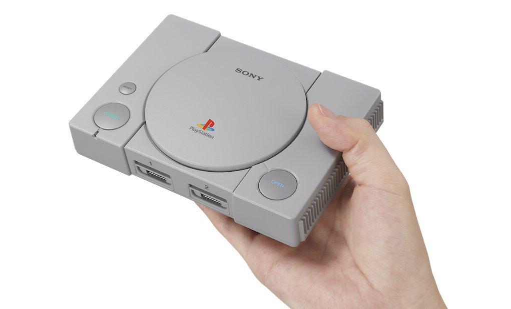 Anche Sony punta sull'effetto nostalgia e lancia PlayStation Classic
