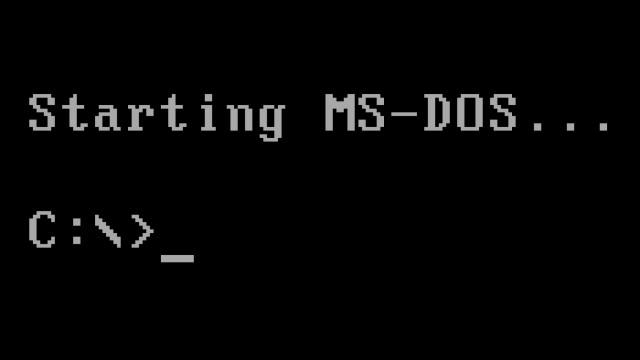 Microsoft ha messo online i codici sorgente di MS-DOS come open source