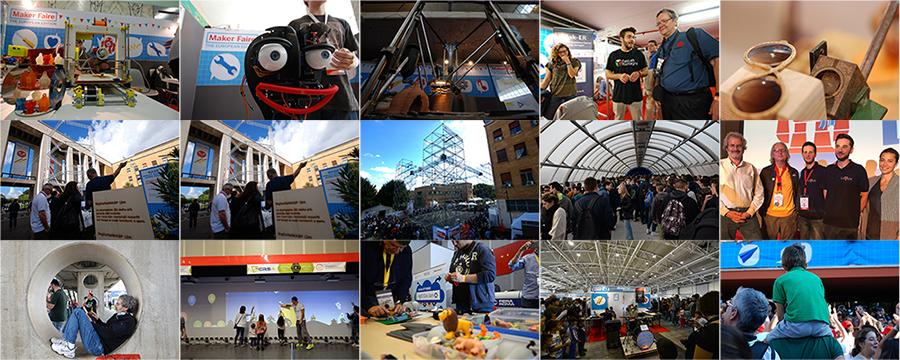 5 anni di Maker Faire Rome, in 15 cartoline