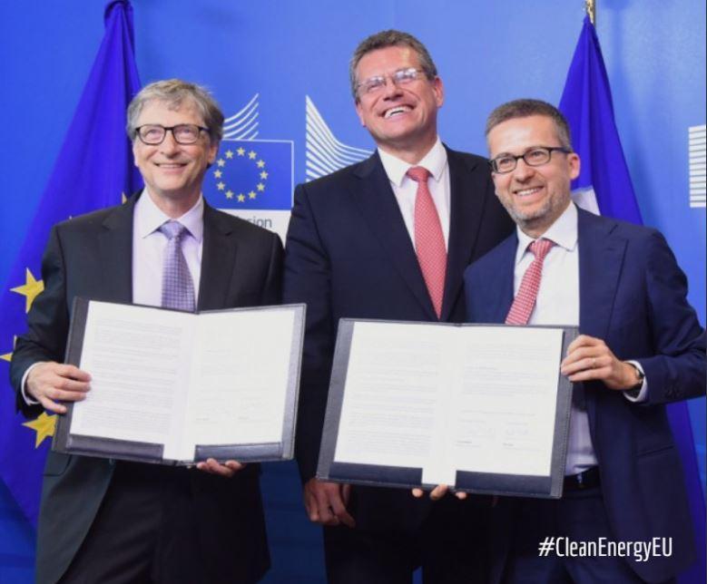 Bill Gates e l'UE annunciano un fondo da 100 milioni per combattere i cambiamenti climatici