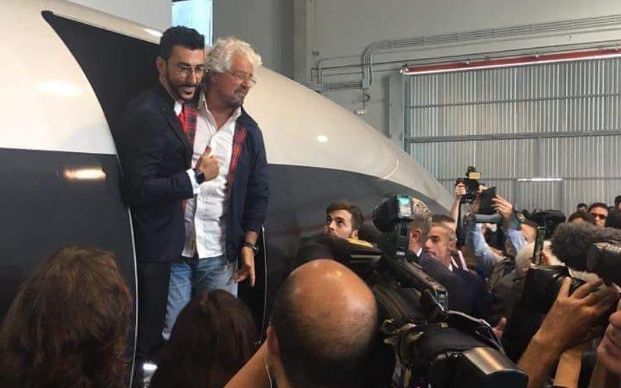Presentata la prima capsula del treno superveloce Hyperloop (il papà è italiano)