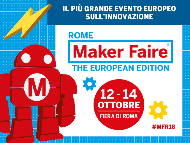 COUPON Con Ninja entri alla Maker Faire Rome col 50% di sconto