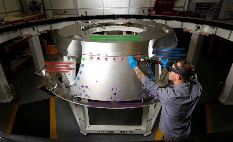 La NASA usa la Realtà Aumentata per costruire il suo nuovo veicolo spaziale