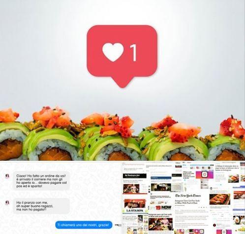 Abbiamo provato quel sushi dove paghi con i follower di Instagram