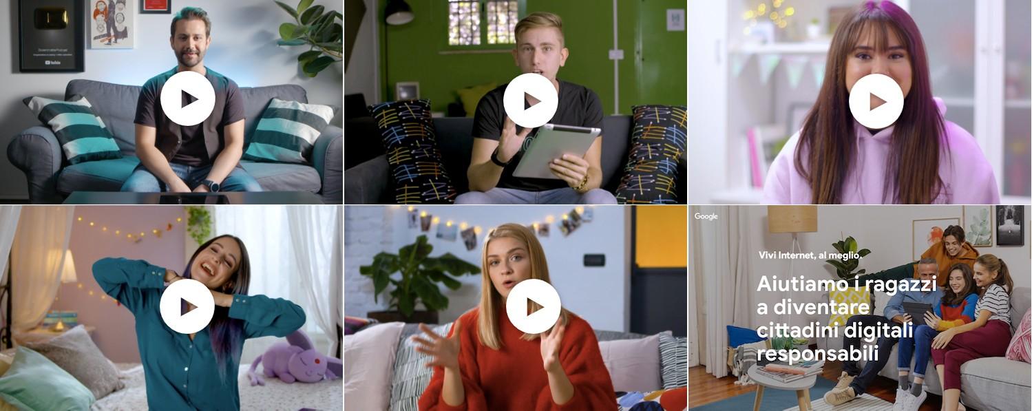 Google collaborerà con 5 creator di YouTube per la sua campagna sul digitale sicuro