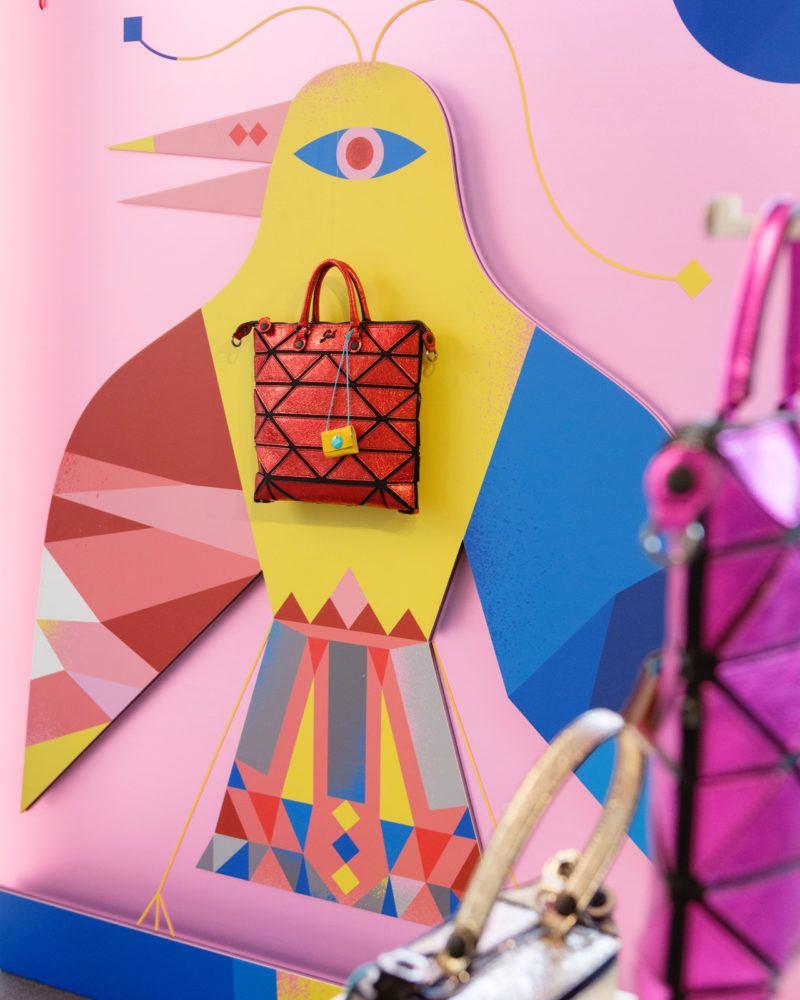 Gabs si affida alle grafiche coloratissime di Camilla Falsini per la sua nuova collezione