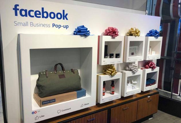 Facebook apre i suoi negozi fisici con gli oggetti più cliccati online