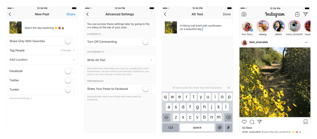 """Instagram userà l'Intelligenza Artificiale per """"leggere"""" le foto ai non vedenti"""