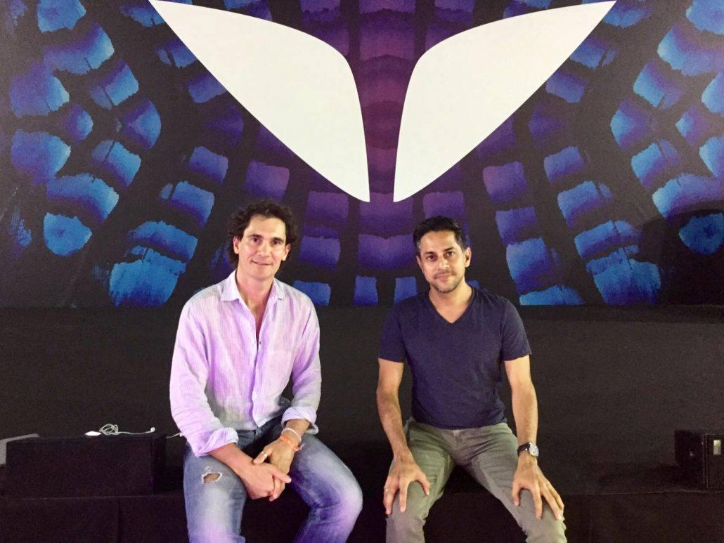 Mirko Pallera e Vishen Lakhiani all'A-Fest Sardegna