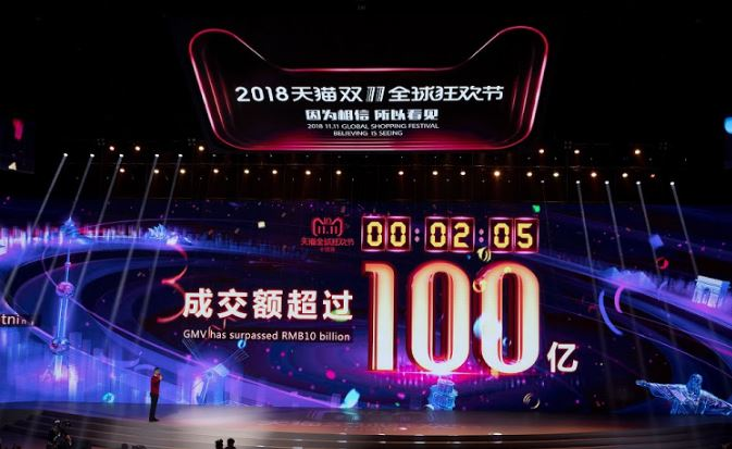 Il Singles' Day 2018 di Alibaba triplica i risultati di Black Friday e Cyber Monday 2017