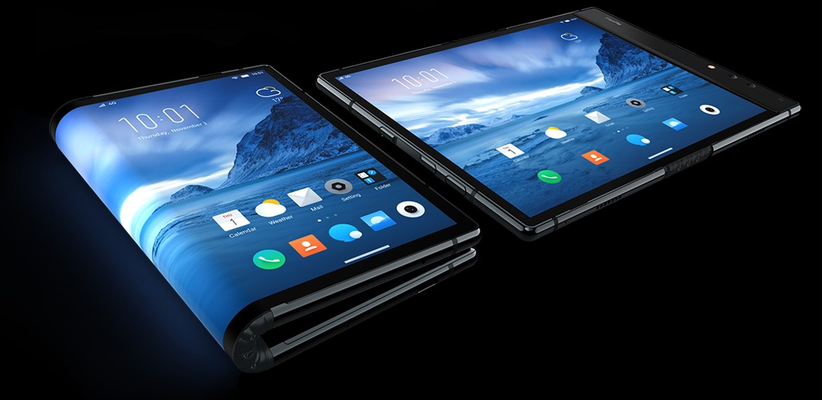 Lo smartphone pieghevole è già qui (e no, non è della solita Big)