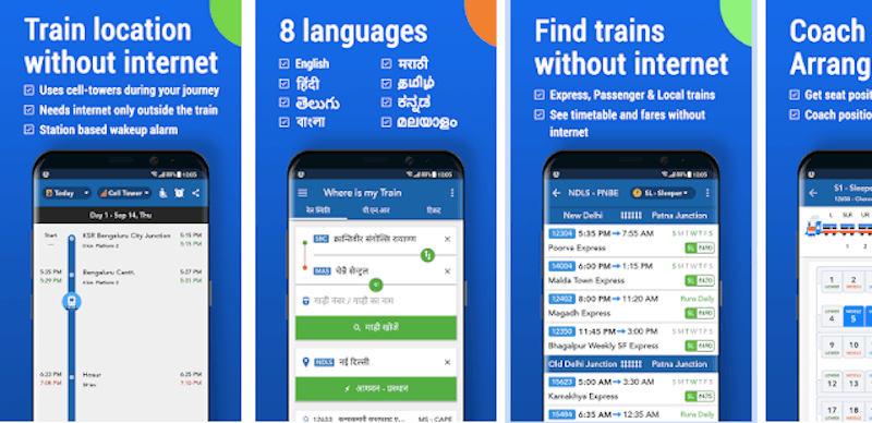 Google si compra una delle app per i treni più popolari in India