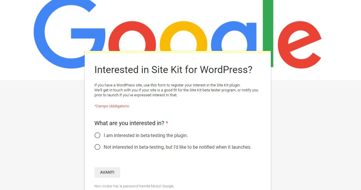 Google sta per rilasciare un plugin per WordPress che integra Analytics, Search Console e AdSense